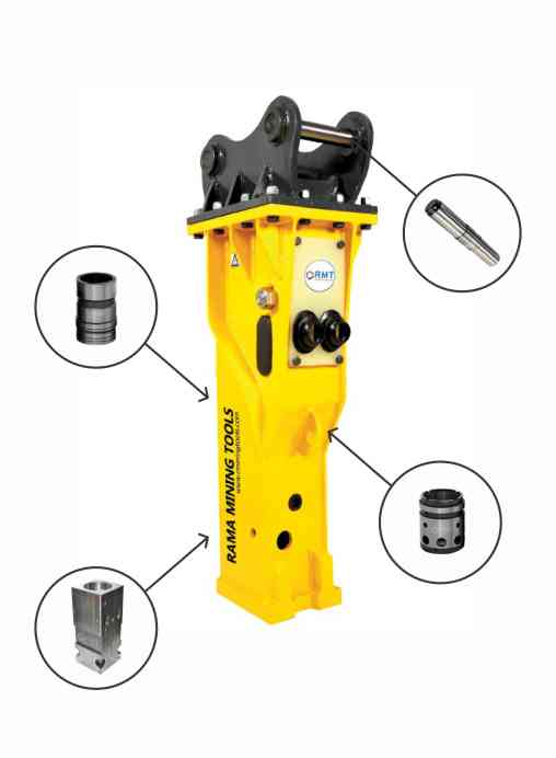 Hydraulic Rock Breaker Parts